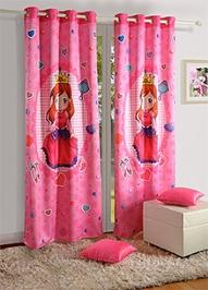 Swayam Window Curtain Power Girl - Single Piece