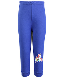 SAPS Full Length Legging Giraffe Print - Blue