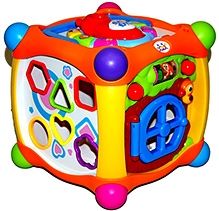 Adraxx Educational Magic Cube Toy For Infants