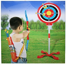 Adraxx Mini Super Recurve Bow Set With Blunt Suction Arrows And Target