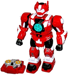 Adraxx Infra Red Remote Operated Robot- Red
