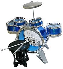 Adraxx Mini Musical Complete Drum Set- 10 Pieces