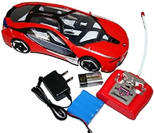 Adraxx 1:16 Scale Futuristic Designer Concept RC Car Model With Charger