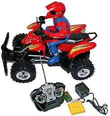 Adraxx Large Adventure Sports Quad Model With Remote Control