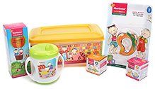 Morisons Baby Dreams Gift Box Yellow - Set of five