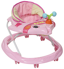 Fab N Funky Musical Baby Walker Fish Shape - Pink