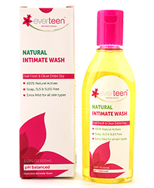 Everteen Natural Intimate Wash - 105 ML