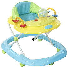 Fab N Funky Musical Baby Walker - Blue - 371140