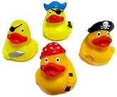 Marbles Squeeze Duck Bath Toys - Set of 4