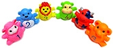 Marbles Squeeze Animals Bath Toys - Set of 6