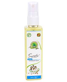 Surete Herbal Anti Mosquito Spray - 100 ML