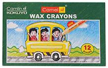 Camlin Wax Crayons- 12 Shades