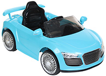 Fab N Funky Battery Operated Car RC Ride On - Turquoise