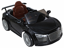 Fab N Funky Musical Baby Car- Black