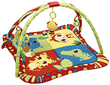 Mastela Multi Colour Baby Play Gym - 5 Fun Toys