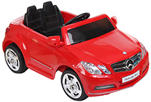 Fab N Funky Mercedes Benz Baby Car - Red & Black
