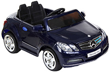 Fab N Funky Mercedes Benz Baby Car - Navy & Black