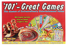 Kumar Toys 101 Great Games