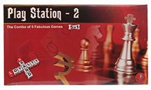 Yash Toys Play Station II 5 In 1 Board Games