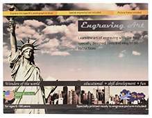 Toyspan Engraving Art - Statue of Liberty