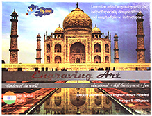 Toyspan Engraving Art- Taj Mahal