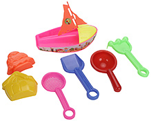Kumar Toys Boat Beach Set- 7 Pieces