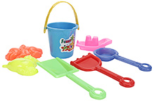 Kumar Toys Nano Beach Set- 7 Pieces