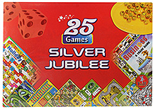 Yash Toys 25 Silver Jublee Game Set