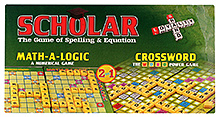 Yash Toys Scholar 2 in 1 Game Crossword & Maths