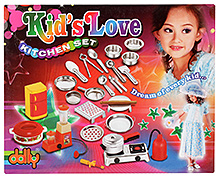 Dolly Kids Love Kitchen Set