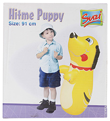 Suzi Hitme Puppy Yellow - 91 Cm