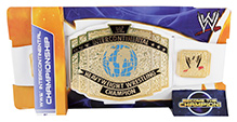 Mattle WWE Champ Intercontinental Belt