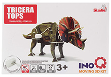 Simba Tricera Tops INOQ Moving 3 D Kit Puzzle - 27 Pieces