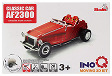 Simba Classic car AF2300 INOQ Moving 3 D Kit Puzzle - 28 Pieces
