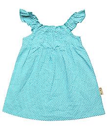 Gron Sleeveless Yoke Dress - Green