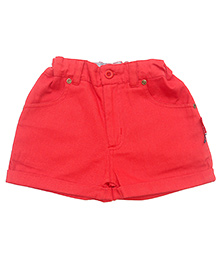 Gron Red Shorts