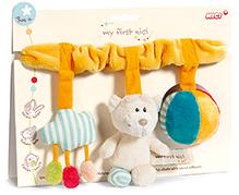 Nici Buggy Toy Chain Bear Plush