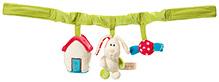 Nici Buggy Toy Chain Rabbit Plush