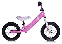 Rebel Kidz Air Tire Balancing Cycle Butterfly Print  - 12 Inches