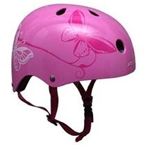 Rebel Kidz Deluxe helmet - Butterfly Pink