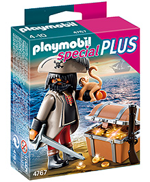 Playmobil Gloomy Pirate with Treasure Chest