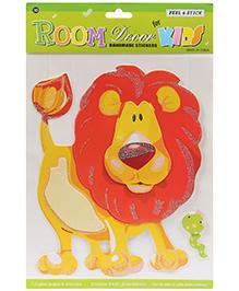 Fab N Funky Handmade Decor Stickers - Lion Design