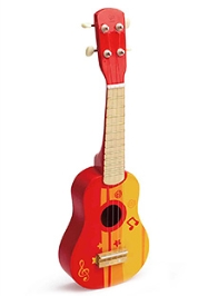Hape Guitar- Red