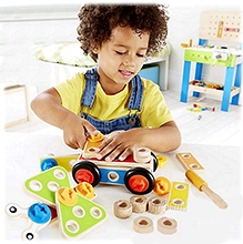 Hape Wooden Basic Builder Set