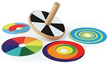 Hape Color Swirl A Top Wooden Toy