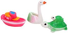 Fab N Funky Baby Bath Toys- Set of 3
