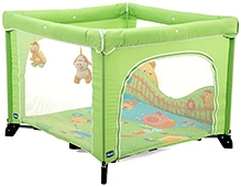 Chicco Open Playpen Bassinette - Green