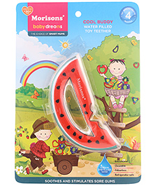 Morisons Water Filled Toy Teether - Watermelon Shape - 4 Months+