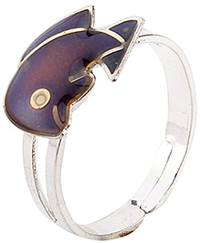Fab N Funky Finger Ring - Dolphin Fish Design