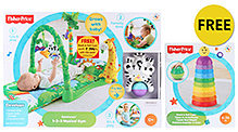Fisher Price Rain Forest 1-2-3 Musical Gym